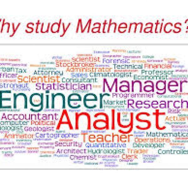 為什麼我們要學數學