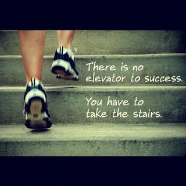 成功無捷徑